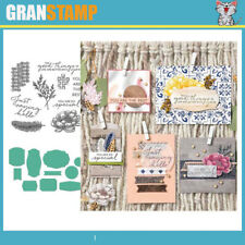 MP153 TASTEFUL TOUCHES Metal Cutting Dies and Stamps Scrapbooking