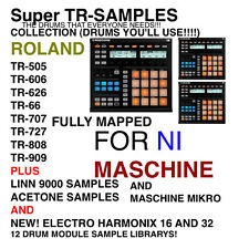 Super Tr- Sample Library 12 Kits For NI MASCHINE AND MASCHINE MIKRO