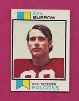 1973 TOPPS # 489 FALCONS KEN BURROW  NRMT-MT ROOKIE CARD (INV# A3026)