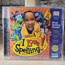 I Love Spelling Pc Cd-Rom Children Windows Learning Software New!