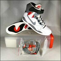 Nike Air Pressure (2016)   UK12/US13   White/Grey/Red   Rare