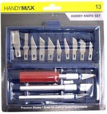 Precision Hobby Knife Craft Carving Knife Tool Pen Knife Pen knife 13 Blades Set
