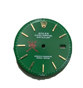Rolex 1601/1603. Oman Khanjar None quick Set Dial For  36mm Refinished