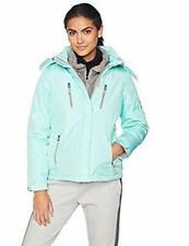 Reebok Women's Monkey Fleece Zip Coats System Active Jackets  Mint - Size: Large