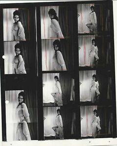 VIVIENNE SEXY CONTACT SHEET 10X8 VINTAGE RARE OSMAN PHOTOGRAPHY
