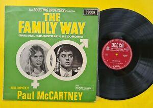 Paul McCartney The Family Way vinyl LP EMI Decca Australia Mono label LKA4847