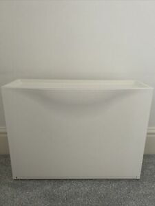 Ikea Trones Shoe Storage Cabinet White Plastic Can Be Wall Mounted Or Stacked