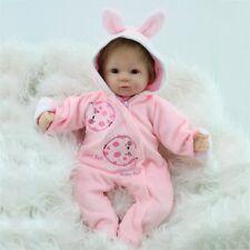 "16"" Handmade Baby Girl Doll Christmas Gift Vinyl Silicone Reborn Newborn Dolls"
