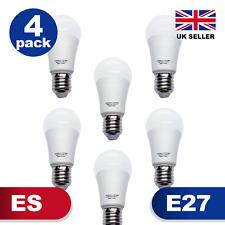 GLOBE GLS LED Warm Light Bulb 4 PACK E27 Energy Saving A+ Edison fitting