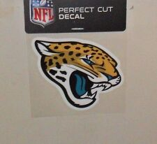 JACKSONVILLE JAGUARS 4 X 4 DIE-CUT DECAL OFFICIALLY LICENSED PRODUCT