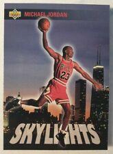 1993-94 Upper Deck Michael Jordan 'Skylights' Rare Insert #466
