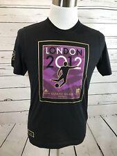 Nwt Adidas London 2012 T-shirt Football Mens Sz S Small Black