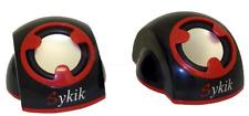 Sykik SP0226BR Buddies 2 Channel PC Speakers Laptop Computer Speaker System NEW