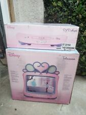 Disney Princess TV And DVD Player New In Box Sealed