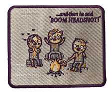 Randy Otter Zombie Tales Iron On Patch On Jacket Shirt