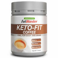 FATBLASTER KETO-FIT COFFEE 85G POWDER FUEL FOR BODY AND BRAIN MCTS BURN FAT