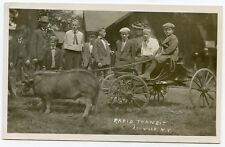 RPPC NY Lowville Rapid Transit Boys on Buggy Hogs (Agens Photo) Lewis County