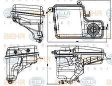 BMW 7 Series E65 E66 E67 Expansion tank 2001 onwards GENUINE BEHR 8MA376789711