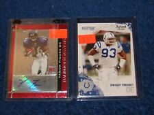 DWIGHT FREENEY COLTS CHARGERS SYRACUSE 2010 SCORE ARTIST PROOF 27/32