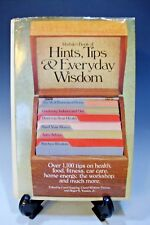 Rodale's Book of Hints, Tips and Everyday Wisdom (1985, Hardcover) (300)