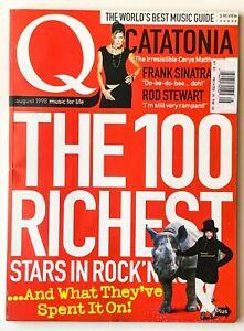 Lot of 4 Special Issues of Q Magazine UK Music When Rock Stars Go Crazy