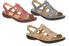 Clarks Slingbacks 100% Leather Upper Shoes for Women
