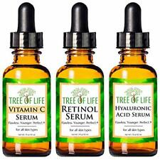 3-Pack Tree of Life Anti Aging Face Serum For Healthy Skin Wrinkle Treatment New