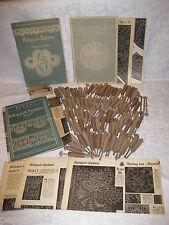 88 Klöppel / 3 Hefte / Klöppelspitzen - Gussi von Reden / Klöppelbrief 1923 +Hhj
