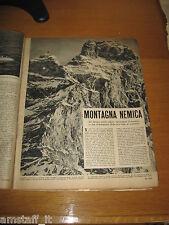 RIVISTA EPOCA 1953/152=MONTE CERVINO=CLIPPING=ARTICOLO FOTO=