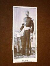 Nord Alexis nel 1908 Presidente fuggiasco della Repubblica di Haiti