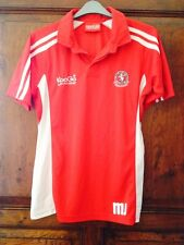 Mens Red KooGa Lewis Rugby Training Top T-Shirt Shirt, Size M Medium