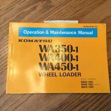 Heavy Equipment Manuals Amp Books For Komatsu Wheel Loader
