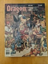 Dragon Magazine #120 Players Handbook  2 - Scorpion Tales - Bazaar of the Bizarr