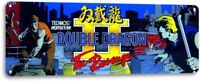 Double Dragon Classic Arcade Marquee Game Room Cave Wall Decor Metal Tin Sign