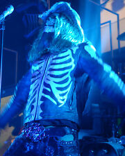 Rob Zombie 16X20 Poster In Skeleton Clothes Concert
