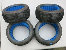 Proline Lockdown 9051-004 X4 insert and tyre set for 1/8 buggy new