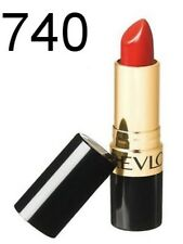 REVLON Super Lustrous Lipstick CREME 740 CERTAINLY RED. New And Sealed X