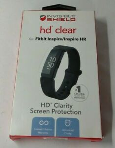 ZAGG - InvisibleShield HD Screen Protector for Fitbit Inspire/Inspire HR - Clear