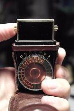 Vintage IRIS mini medidor fotómetro luz lux light meter Belichtungsmesser Light
