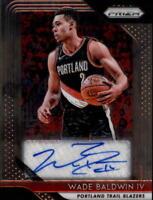 2018-19 Panini Prizm NBA Basketball AUTO Autograph Singles (Pick Your Cards)