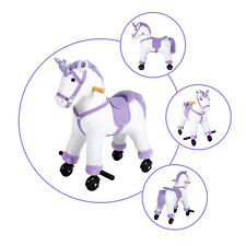 Adorable Unicorn Pony Cute Rocking Horse Ride On Toy Birthday Gift  Neigh Sound