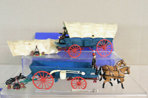 BRITAINS DEETAIL DORSET SOLDIERS ROYAL HORSE ARTILLERY & COVERED WAGONS oa