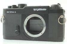 【MINT*Tested】 Voigtlander BESSA L Black 35mm Film Camera L39 Leica From JAPAN