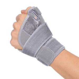 Thumb Brace Wrist Support – Hand Splint for Carpal Tunnel Tendonitis Pain Relief