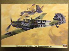"""Hasegawa 1/32 Bf-109 E-4 Trop """"Jagdgeschwader 27"""""""