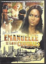 Emanuelle and the Last Cannibals (DVD) Directed by Joe D'Amato (OOP) Region 1