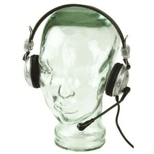 USB VoIP Plug and Play Stereo Excellent Sound Headset w/ Sensitive Microphone