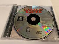 Play Station Gallop Racer Tecmo Missing Manual Tested