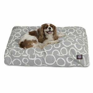 Majestic Pet Fusion Gray Small Rectangle Pet Bed