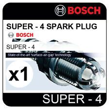 RENAULT Clio Sedan 1.6 i 16V 01.01->  BOSCH SUPER-4 SPARK PLUG FR78X